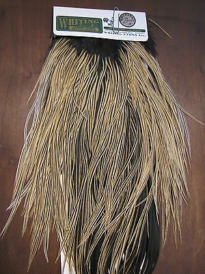 Fly Tying Whiting H/M Bronze Rooster Saddle Golden Badger #A