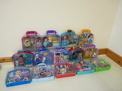 """Disney Animators Doll Playsets 14  5"""" Mini Dolls Whole Collection LOT  All NEW"""