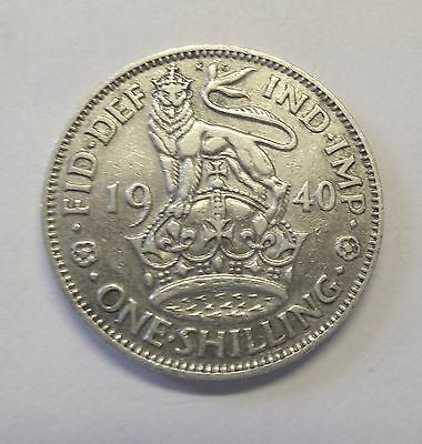 1940 George 6 one shilling  (2)