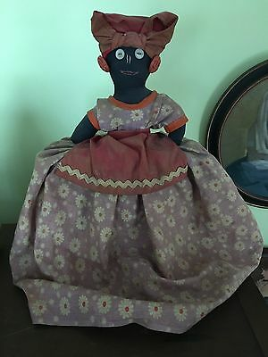 Vintage Hand Made Black American Mammy Toaster Cover