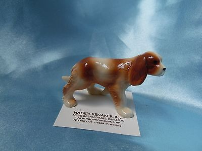 Hagen Renaker Dog King Charles Spaniel Figurine Miniature 03391 Ceramic