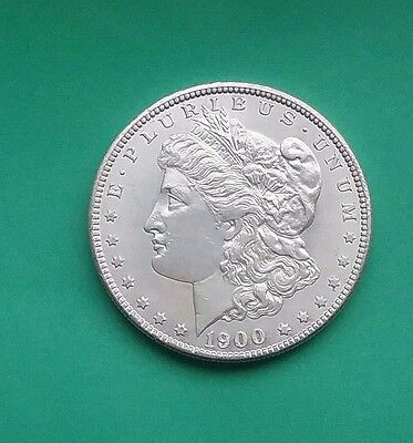US 1900 O Morgan Silver Dollar
