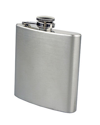 Combo Pack 6oz Stainless Steel Liquor Wine Hip Flask + Funnel Kitchen Cooking