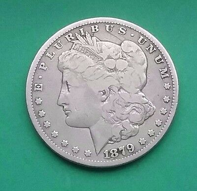 US 1879 S Morgan Silver Dollar