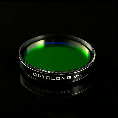 """2"""" 25nm OPTOLONG FWHM O-III Filter for Telescope Eyepiece Cuts Light Pollution"""