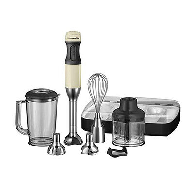 NEW KitchenAid Artisan Deluxe Stick Blender Almond Cream (RRP $269)