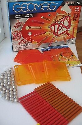 94 piece GEOMAG COLOR SWISS MADE Construction Set SWITZERLAND