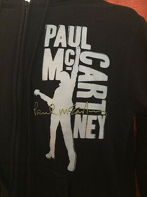 Paul McCartney Up And Coming Tour 2010 Large Hoodie Jacket Rare Hard To Find