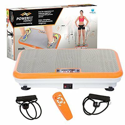 Genuine Powerfit E380 Vibration Exercise Machine incl Remote and Powerbands
