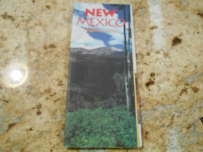 1992 New Mexico Highway Map      free shipping!!!