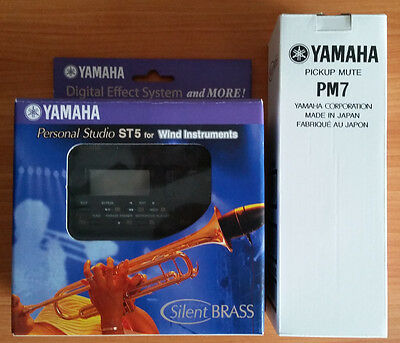 Yamaha Silent Brass for trumpet with ST5 Personal Studio & PM7 mute