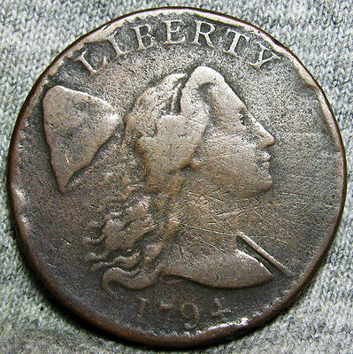1794 S-42 Rarity 5 Liberty Cap Bust  -- S-42 Rarity 5 -- #H788