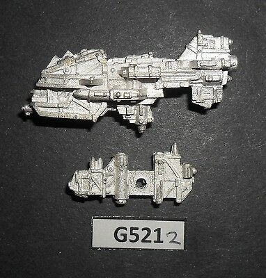 Warhammer BFG Metal Battle Fleet Gothic SPACE ORK RAVAGER SHIP VARIANT G 521