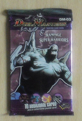Duel Masters DM 03 - Rampage of the Super Warriors - Booster (Neu & OVP) engl