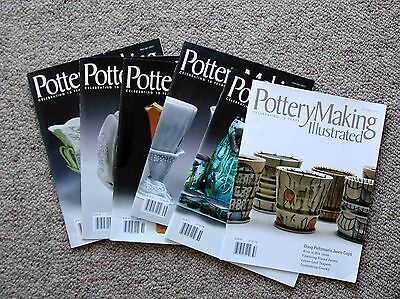Pottery Making Illustrated - all Issues from  2013