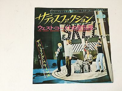 7 Inch Single The Rolling Stones Satisfaction Japan