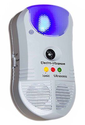 Ultrasonic Ionic Electronic 5 in 1 Repeller Pest Rat Mice Insect Spider Dustmite