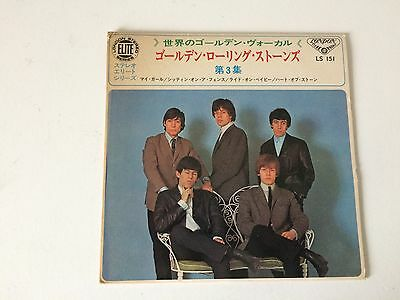 7 Inch Single 33 Ep The Rolling Stones My Girl Japan