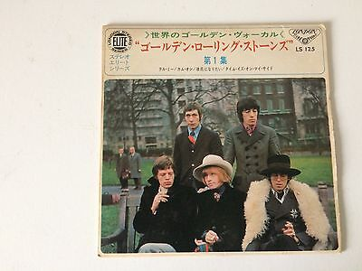 7 Inch Single 33 Ep The Rolling Stones Tell Me Japan