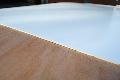 6mm white polyester faced/white board plywood