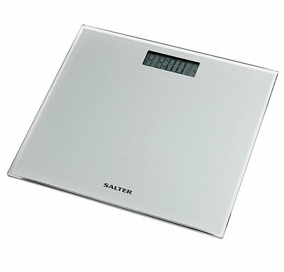 Salter Glass Silver Electronic Scale RRP 14.99 lot GD 5010777138474