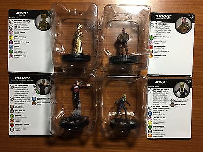 Heroclix Guardians of the Galaxy 2 011 012 013 014 AYESHA, TASERFACE, STAR LORD