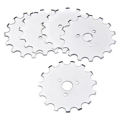 5/10pcs 45mm Rotary Cutter Blade Disc Patchwork Crochet Fabric Leather Paper