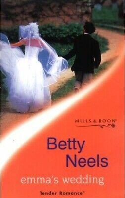 Emma's Wedding (Tender Romance) by Neels, Betty Paperback Book The Cheap Fast