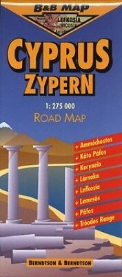 Cyprus Road Map (B&B Road Maps), Treaty Oak Other printed item Book The Cheap