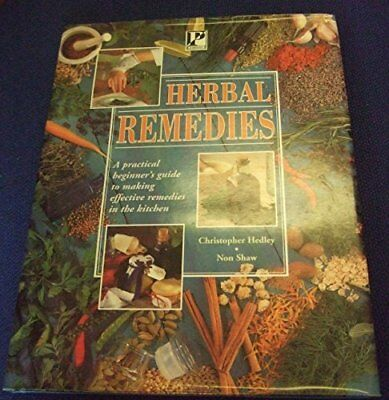 Herbal Remedies by Shaw, Non Paperback Book The Cheap Fast Free Post