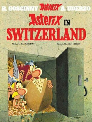 Asterix in Switzerland by Uderzo, Albert Paperback Book The Cheap Fast Free Post