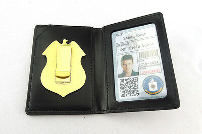 Mission: Impossible Serial CIA Badge @ Holder @ Custome made ID Card
