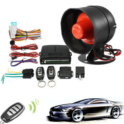 Keyless One Way Car Security Alarm System Vehicle Entry Auto Central Locking
