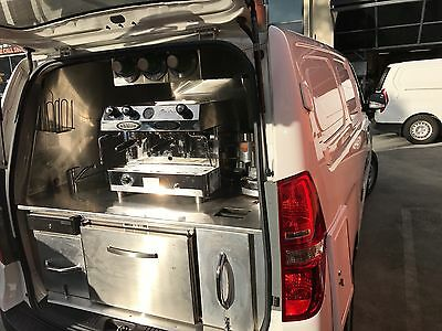 Ex Demo 2015 Hyundai I-Load Gas/Battery Powered Coffee Van