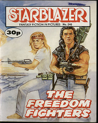 ,starblazer Fantasy Fiction In Pictures,comic,no.246,1989