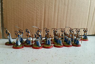 Lord of the Rings Warhammer . Galadhrim warriors x22