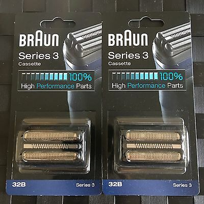 2 X Packs Braun 32B Series 3 Replacement Shaver Foil Blade 390cc 370cc 🇦🇺stock