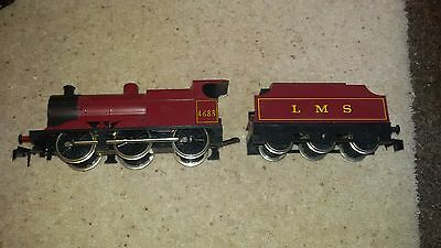 O gauge LIMA LMS MAROON 0-6-0 4F CLASS STEAM Locomotive NO.4683 unboxed