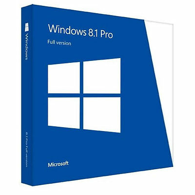Microsoft Windows 8.1 Pro Key Only For 64 Bit Life Time Licence USB Installer!!!