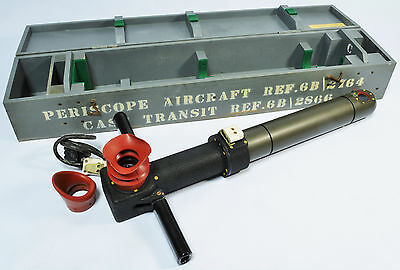 RAF aircraft periscope, believed ex V-Bomber, 1950s - near mint condition