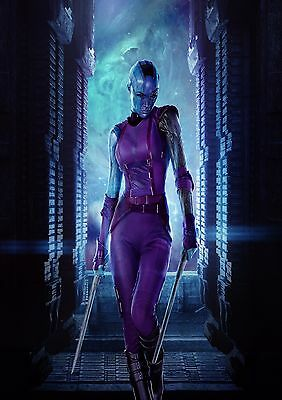 Guardians of the Galaxy Nebula - A4 Glossy Poster  Film Movie Free Shipping #515