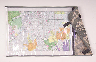 Military Rolled Map Case in ACU