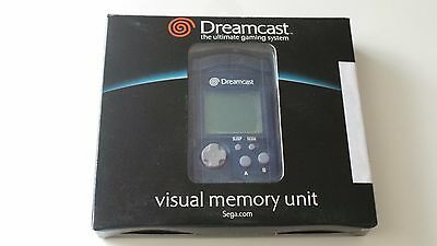Carte mémoire VMU bleue officielle Sega dreamcast Visual Memory Unit