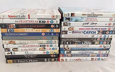 Large Bundle Drama And Romantic Comedy Movies DVD Bundle Job lot 25 Movies