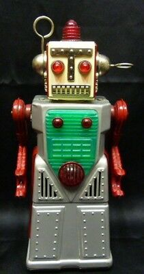Tin space Toy Japan Yoshiya Chief-Robotman Electric Character Retro Vintage