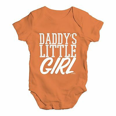 Twisted Envy Daddy's Little Girl Baby Unisex Funny Baby Grow Bodysuit