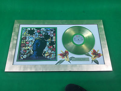 David Bowie Tonight Framed Gold Disc Lp Original  Pop Art Music Memorabilia