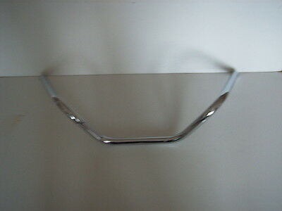 Chrome Low Custom Handlebars Harley-Davidson with dimples 096001