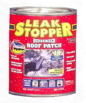 Black Leak Stopper Rubberized Roof Patch-QT BLACK LEAK STOPPER