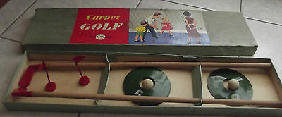 Antico Gioco in scatola vintage CARPET GOLF Chad Valley 1950s